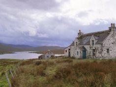 Deserted Croft, Isle of Lewis, Outer Hebrides, Scotland