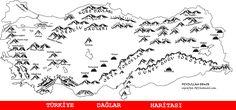 YGS-LYS Coğrafya çalışmak için gerekli olan haritalar BOL RESİMLİ