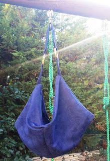 Sac Swing cousu par Sweet-à-porter - Patron de couture Sacôtin