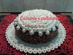 Cucinando e Pasticciando: Torta al cioccolato con crema al mascarpone