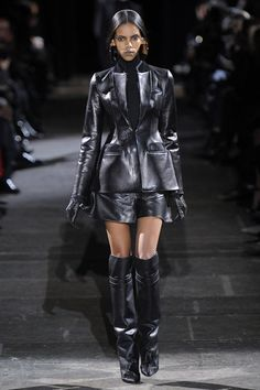 Givenchy #pfw all black everything