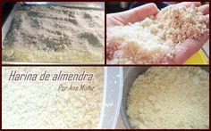 Como se hace la harina de almendra