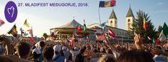 """Durante il festival dei giovani a Medjugorje ricorre il """"Perdono di Assisi"""" Festival, Dolores Park, Travel, Sky, Viajes, Destinations, Traveling, Trips"""