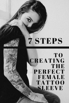 Discover 7 simple steps to create the perfect tattoo sleeve that you can wear proudly and still feel beautiful. Women no longer have to compromise their femininity when getting an arm sleeve tattoo. Start your tattoo sleeve journey now. Arm Sleeve Tattoos For Women, Tattoo Sleeve Designs, How To Feel Beautiful, Beautiful Women, Feminine Tattoos, Femininity, Arms, Journey, Feelings