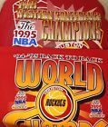 For Sale - Houston Rockets World Champs and 1995 Western Conference Champions Shirts Lot 2 - See More At http://sprtz.us/RocketsEBay