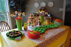 The Very Hungry Caterpillar Birthday Party Ideas | Photo 3 of 12 | Catch My Party