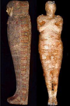 Egyptian Mummies, 1st Century, National Museum, Women, Woman