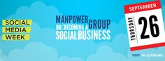 We are delighted to announce our Social Media week event with ManpowerGroup. Come to our event to find out more about becoming a social business