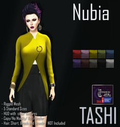 Today an amazing event that is very dear to my heart begins and we would like to invite all of you to stop by to see all the amazing creations that all the designers did for this wonderful event.  We have to exclusive items at this event! one is our TASHI Lis Leggins and TASHI Nubia Asymetical Jacket which is to honor someone very special in my life someone that is like my 2nd mother who is currently battling cancer. To grab yours please join us at <a…