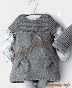 0216a6334e7 Платье 30 25 PHIL №420 Baby Knitting Patterns