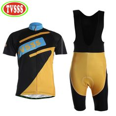 TVSSS 2017 Bicycle Clothing Men Summer Cycling Bib Shorts set Sweat Quick-Drying Short-Sleeved Mountain Bike Clothes Suit -- AliExpress Affiliate's buyable pin. Item can be found  on www.aliexpress.com by clicking the image #CyclingJerseys