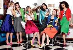 Nina Secrets, Priscila Paes, Taciele Alcolea, Flavia Calina, Maddu Magalhães e Rayza Nicácio para Revista Glamour, por Victor Affaro.