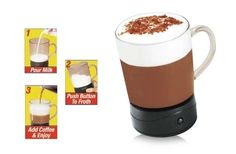 Coffee Magic Battery Operated Frothing Mug/Cup As Seen on TV  http://cgi.ebay.com/ws/eBayISAPI.dll?ViewItem=330849764286=STRK:MESE:IT
