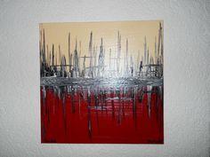 Abstract acrylic art by Maria Pekarova