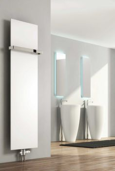 Hot Water Towel Radiator / Steel / Contemporary / Bathroom SLIMLINE REINA  DESIGN