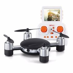NEWEST! MJX X906T 5.8G FPV Drones With HD Camera Built In 2.31 Inches LCD Screen 3D Flips Wind Resistance RC Quadcopter vs Lily