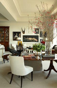 Neutral living room - Robert Brown Interior Design