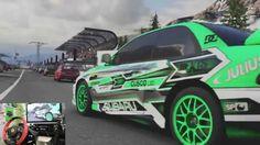 [07] Xbox One Forza 6  Thrustmaster Ferrari 458 Spider Racing Wheel Game...