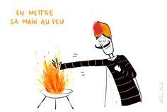 Les expressions françaises : le corps