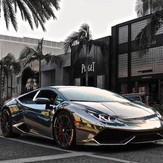 """Chrome Huracán """