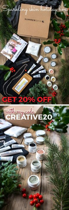 Get 20% off with my code Creative20 - Show your love this holiday season and give the gift of skin health! Summer Skin skin love sparkle box are customizable, wrapped with ribbon & ready to give! They contain the best selling Endless Summer Wrap which can be a cover, infinity scarf, shoulder wrap, skirt, hood, halter top, sun protection, cool evenings and more. With built in UPF 50+, this will make a perfect Christmas gift for women who love the outdoors, moms, mums, grandma or sun-loving…