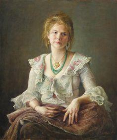 Cornelis le Mair - Portret Ilona #1