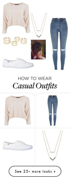 """School - casual"" by diboramillion on Polyvore featuring River Island and Michael Kors"