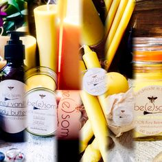 All natural handmade 100% pure beeswax candles and organic whipped body butter. Eco-friendly gifts that everyone will love! www.beesomcandles.com