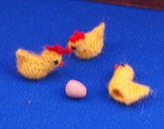 miniature Easter egg cozies