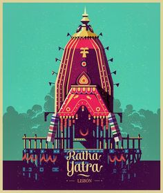 Had a unique opportunity to contribute to this year's Ratha Yatra at Lisbon. Working on the final refinements Indian Illustration, Digital Illustration, Graphic Illustration, Lord Krishna Wallpapers, Radha Krishna Wallpaper, Rath Yatra, Lord Jagannath, Krishna Painting, Krishna Images