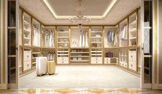 10 Luxury Walk-in Closet Design Ideas That Will Make Your Jaw Drop Walk In Closet Design, Bedroom Closet Design, Master Bedroom Closet, Master Room, Closet Designs, Bathroom Interior Design, Beautiful Closets, Closet Layout, Dressing Room Design