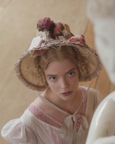Artemis, Emma Woodhouse, Emma Jane Austen, Cream Aesthetic, Anya Taylor Joy, Sofia Coppola, 18th Century Fashion, Rose Candle, Pride And Prejudice