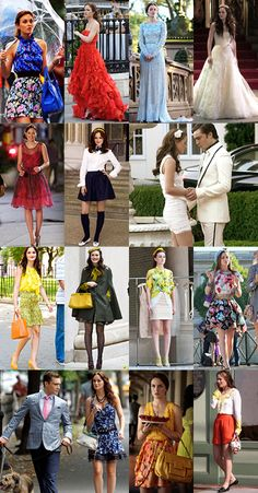 serena and blair gossip girl | Gossip Girl: Serena and Blair's Best Outfits | Marie Clairvoyant