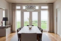 Perfection.  Cliffside Drive - contemporary - dining room - los angeles - Natasha Barrault Design