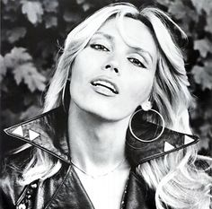 Amanda Lear (née Tapp; born 18 June or 18 November in 1939, 1942, 1946 or 1950[1]): French singer, lyricist, painter, television presenter, actress and former model.