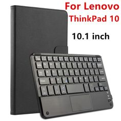 """34.43$  Buy here - http://alitam.shopchina.info/go.php?t=32810862967 - """"Case For Lenovo ThinkPad GEN 1 Protective Wireless Bluetooth keyboard Smart cover Leather Tablet PC GEN1 1ND 10.1"""""""" PU Protector"""" 34.43$ #magazineonline"""
