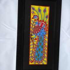 Madhubani Painting Featuring Peacock......