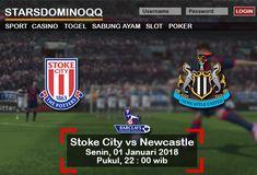 Prediksi Judi Bola Stoke City vs Newcastle Liga Inggris 01 Januari 2018