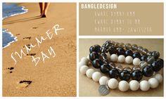 bracelets on rubber bond bransoletki handmade z kamieni naturalnych... www.dawanda.com/shop/bangledesign www.facebook.com/bangledesign