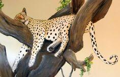 african safari mural | See more of my Jungle Animal Nursery Murals