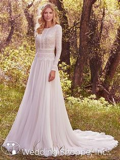 Maggie Sottero Deirdre Marie Bridal Gown | Long Sleeve Wedding Dress