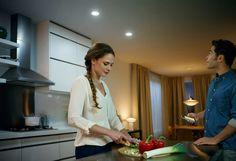 Phoenix, Philips Hue, Apple Homekit, Led Ceiling Lights, Shades Of White, Kit Homes, Bedroom Lighting, Downlights, Smart Home