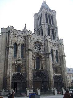 Basilica de St-Denis France...