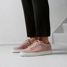Low 2 in smooth nubuck. Available in three colours: Sage, Alloy and Rose. EU Size 36 - 46 | shop via link in bio #etqamsterdam