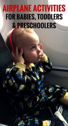 Need ideas for inflight entertainment for babies, toddlers & preschoolers? We have suggestions for every age! Click to get all our recommendations! | Fly with baby | Fly with toddler | Toys for airplanes | Apps for Babies & Toddlers | Activities for babie