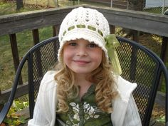 Crochet Pattern for Katrina Cloche Hat - 5 sizes, baby to adult - Welcome to sell finished items - pinned by pin4etsy.com