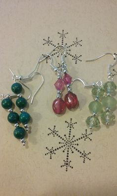 Dangle beauties by TheLoveOfEarrings on Etsy
