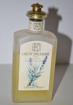 Vintage Lavender Water By Geo F. After Shave, Cologne, Geo, Shaving, Lavender, Perfume Bottles, Water, Vintage, Products