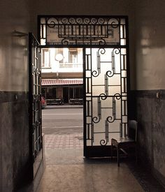 Wrought Iron Door, Casablanca