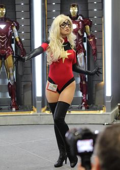 Captain Marvel (Marvel, not the DC Shazam one, and not Marvel's Ms. Marvel either) SDCC 2012 - Katy Mor